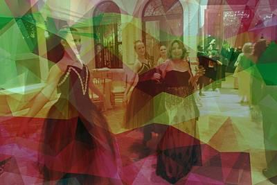 Digital Art - Ballet Dancers by Ron Davidson