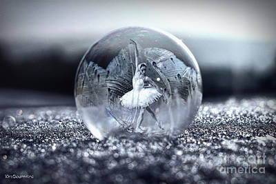 Photograph - Ballet In A Bubble by Kira Bodensted