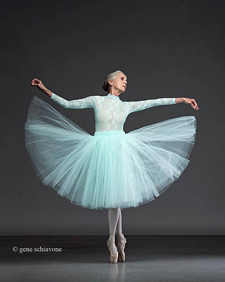 Photograph - Ballet In Blue by Nancy Taylor