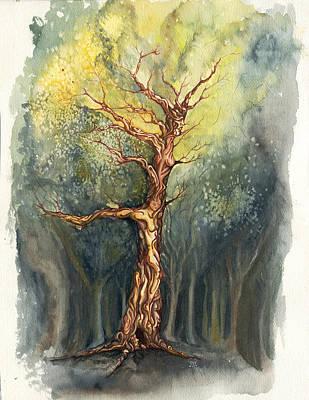 Painting - Ballet In The Woods by Karen Musick
