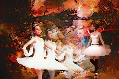 Digital Art - Ballet by Mike Braun