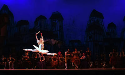 Lithe Photograph - Ballet Performance Of Don Quixote by Wikimediaimages