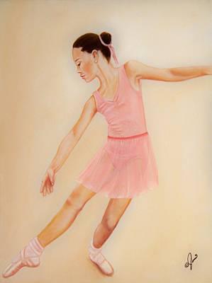 Painting - Ballet Practice by Joni McPherson