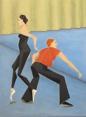 Painting - Ballet Practice by Tamara Savchenko