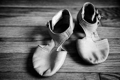 Photograph - Ballet Shoes by Christopher Villandry