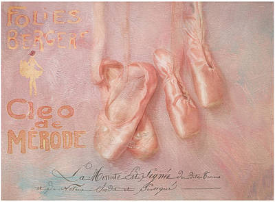 Ballet Shoes Art Print