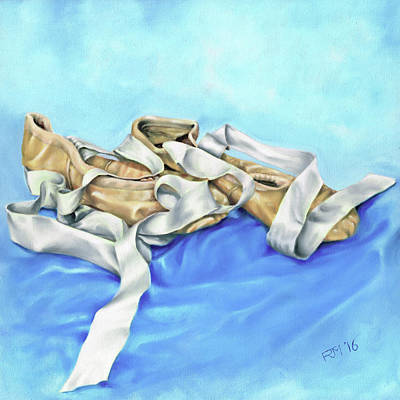 Painting - Ballet Shoes by Richard Mountford
