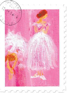 Ballet Sisters 2007 Print by Marie Loh