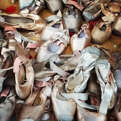 Photograph - Ballet Slippers by Colleen VT