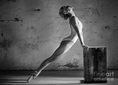 Photograph - Ballet Stretch by Michael Edwards