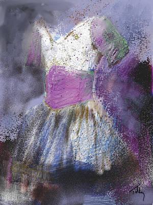 Painting - Ballet Tu Tu by Thomas Tribby