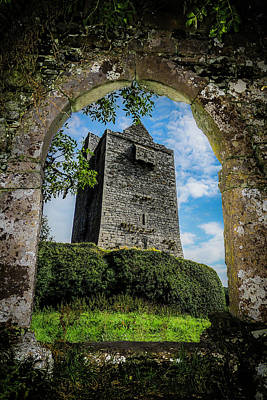 Photograph - Ballinalacken Castle In County Clare, Ireland by James Truett