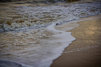 Photograph - Ballinoulart Waves by Alex Leonard