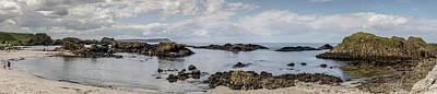 Photograph - Ballintoy Harbor Panorama by Teresa Wilson