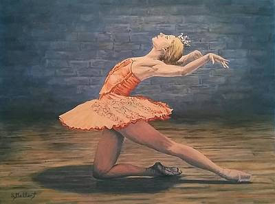Painting - Balllerina by Sheryl Gallant