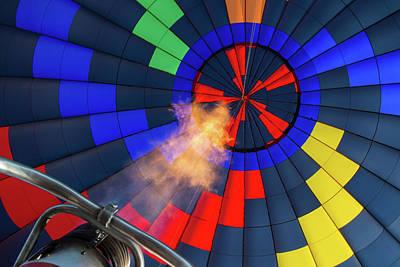 New Years - Balloon Burner by Agustin Uzarraga