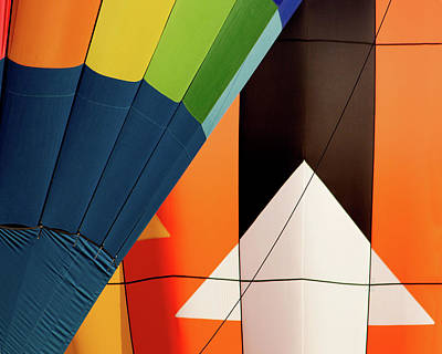 Photograph - Balloon Abstract by Dawn Currie