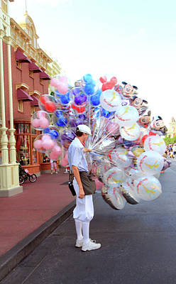 Photograph - Balloon Boy by Mary Haber