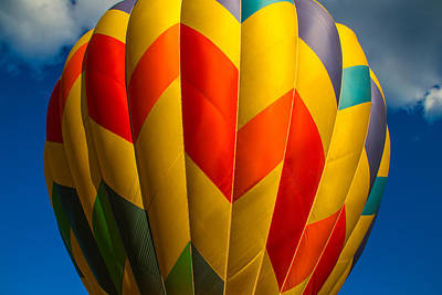 Propane Photograph - Balloon Bright by Karol Livote