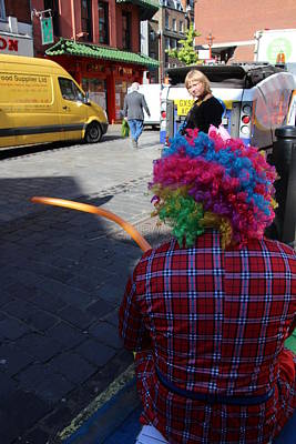 Photograph - Balloon Buffoon by Lee Fennings