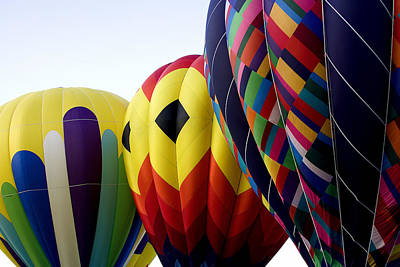 Hot Air Balloons Photograph - Balloon Color by David Patterson