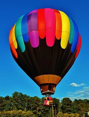 Balloon Colors Art Print