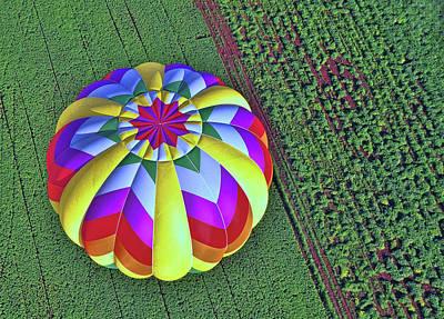Photograph - Balloon Fantasy 12 by Allen Beatty