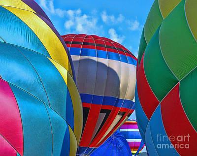 Photograph - Balloon Fantasy  13 by Allen Beatty