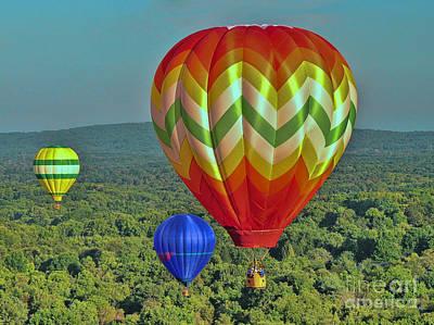Photograph - Balloon Fantasy 18 by Allen Beatty