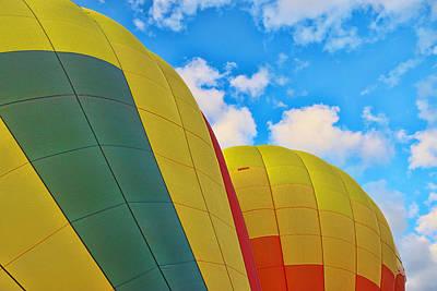 Photograph - Balloon Fantasy 25 by Allen Beatty