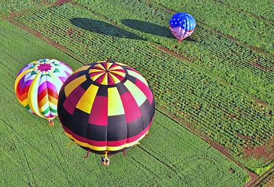Photograph - Balloon Fantasy 31 by Allen Beatty
