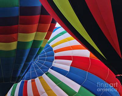Photograph - Balloon Fantasy 32 by Allen Beatty