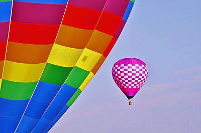 Photograph - Balloon Fantasy 41 by Allen Beatty