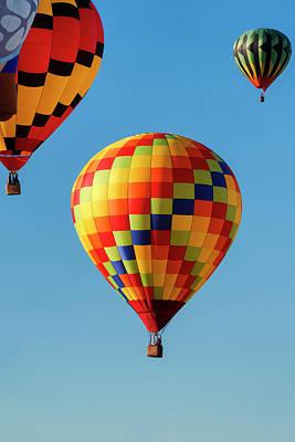 Photograph - Balloon Fest by Tom Singleton
