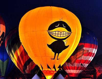Balloon Festival Art Print