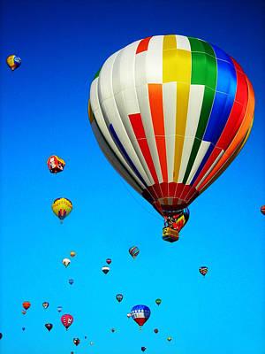 Balloon Festival Art Print by Juergen Weiss