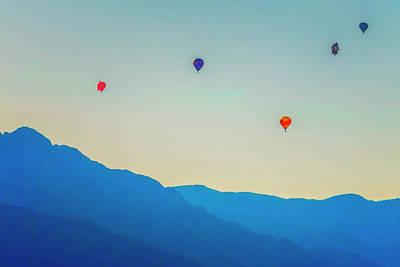 Photograph - Balloon Festival by Tom Singleton