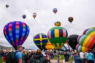 Photograph - Balloon Fiesta by Grace Grogan