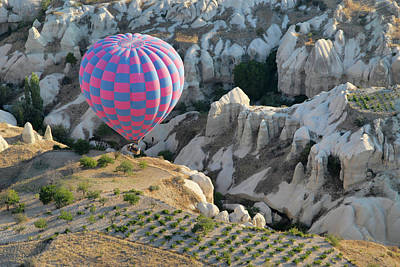 Photograph - Balloon Flight Over Cappadocia by Alan Toepfer