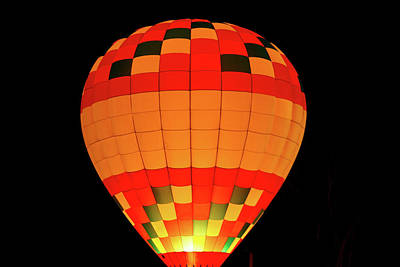 Balloon Glow 1 Art Print by Lone Dakota Photography