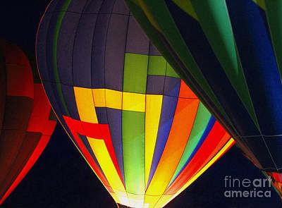 Wall Art - Photograph - Balloon Glow by Elaine J Hoffman