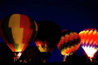 Photograph - Balloon Glow by Shelly Gunderson