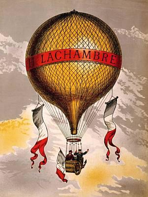 Queen - Balloon H. Lachambre, 1890 by Vintage Printery