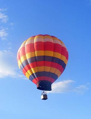 Eddie Armstrong Photograph - Balloon In Flight by Eddie Armstrong