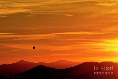 Photograph - Balloon In The Fire by David Arment