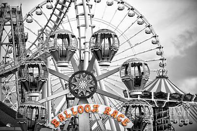 Photograph - Balloon Race Fusion by John Rizzuto