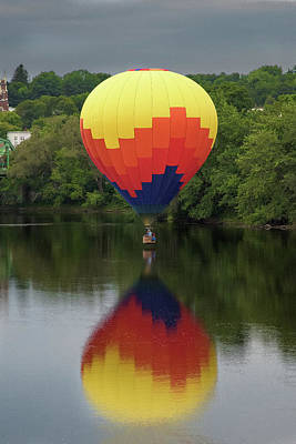 Balloon Reflections Art Print