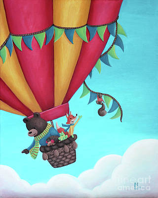 Painting - Balloon Ride by Lisa Norris