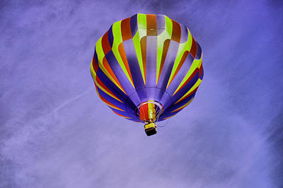Balloon Rising Art Print