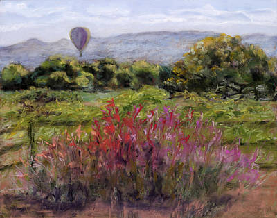 Painting - Balloon View by Julie Maas